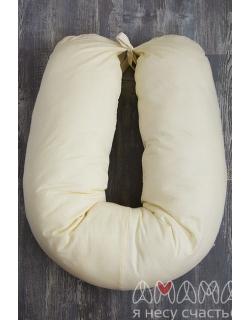 """Подушка для беременных и кормящих """"Лёгкая на подъём"""" 170см, желтый"""