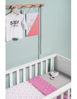 Плед для новорожденных, Graphic Mauve