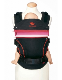 Вставка в удлинение спинки эрго-рюкзака Manduca, розовый