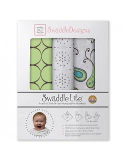 Набор пеленок SwaddleDesigns SwaddleLite Modern Kiwi