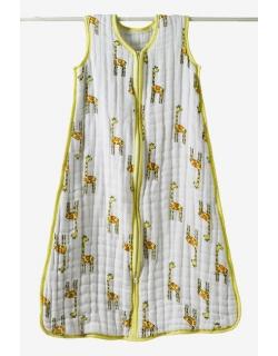 Aden&Anais спальный мешок утепленный Jungle Jam - Giraffe (джунгли-жираф)