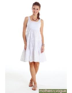 """Платье Mothers en Vogue """"Sweet Pea"""", цвет белый"""