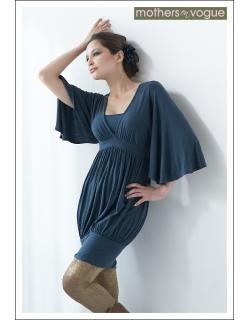 MEV Платье Coco Ono, серо-синий
