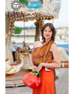 Слинг-шарф Diva Essenza, Terracotta