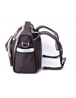 Сумка-рюкзак для мамы Ju-Ju-Be BFF Black Silver