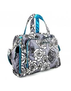 Дорожная сумка или сумка для двойни Ju-Ju-Be Be Prepared, Charcoal Roses