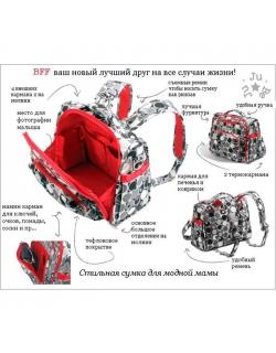 Сумка-рюкзак для мамы Ju-Ju-Be BFF