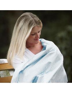 Фланелевая пеленка для новорожденного SwaddleDesigns Kiwi Chickies