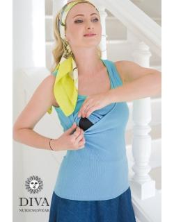 Топ для кормления Diva Nursingwear Eva, цвет Celeste