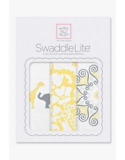 Набор пеленок SwaddleDesigns SwaddleLite SC Elephant/Chickies