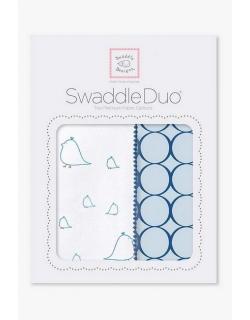 Набор пеленок SwaddleDesigns Swaddle Duo BL Big Chickies