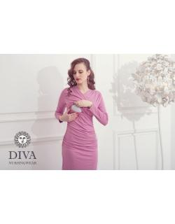 Платье для кормящих и беременных Diva Nursingwear Lucia, цвет Antico