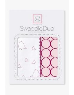 Набор пеленок SwaddleDesigns Swaddle Duo PK Big Chickies