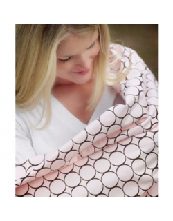 Набор пеленок SwaddleDesigns Swaddle Duo PP Dot/Mod Circle