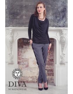 Топ для кормящих и беременных Diva Nursingwear Bella, цвет Nero