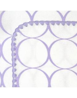 Фланелевая пеленка для новорожденного SwaddleDesigns Lavender Mod/WH