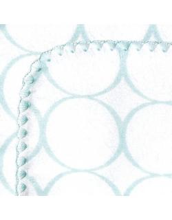 Фланелевая пеленка для новорожденного SwaddleDesigns SeaCrystal Mod/WH