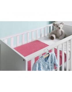"""Jollein вязаный плед для новорожденных (косичка), цвет """"малиновый"""""""