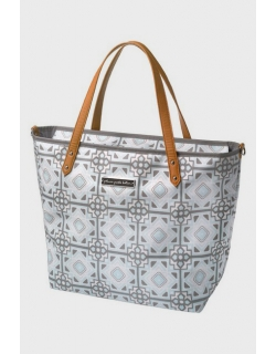 Сумка для мамы Petunia Downtown Tote: Sleepy Seychelles