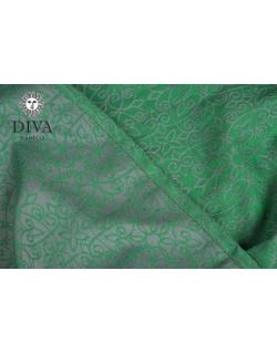 Май-слинг Diva Basico, Aloe с капюшоном