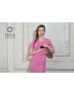 Платье для кормящих и беременных Diva Nursingwear Lucia кор.рукав, Rose