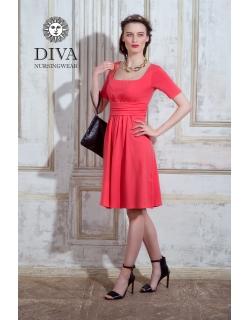 Платье для кормящих и беременных Diva Nursingwear Stella, Corallo