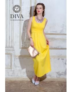 Сарафан для кормящих и беременных Diva Nursingwear Alba Maxi, Limone