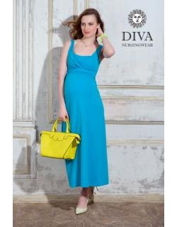 Сарафан для кормящих и беременных Diva Nursingwear Alba Maxi, Celeste