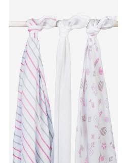 Муслиновые пеленки для новорожденных Jollein, Girls at sea (Девочки на море)