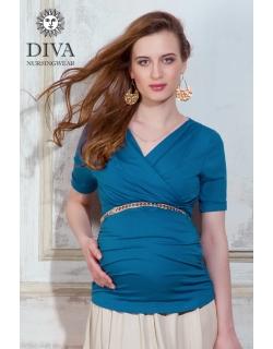 Топ для кормящих и беременных Diva Nursingwear Lucia, цвет Notte