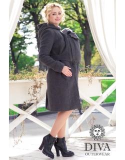 Слингопальто зимнее Diva Outerwear Antracite