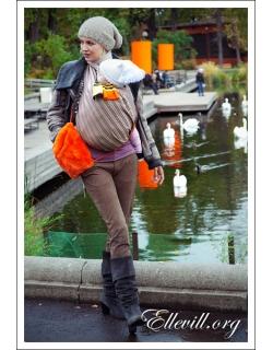 Слинг Ellevill Norwegian Style Alba с шерстью