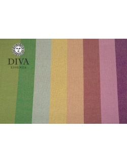Слинг-шарф двойного диагонального плетения Diva Essenza, Estate