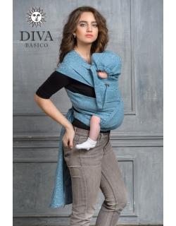 Май-слинг Diva Basico, Luna с капюшоном