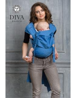 Май-слинг Diva Basico, Zaffiro с капюшоном