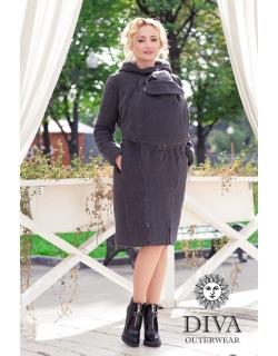 Слингопальто демисезонное Diva Outerwear Antracite