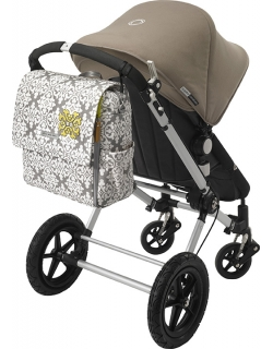Сумка для мамы Petunia Boxy Backpack: Blooming in Brixham