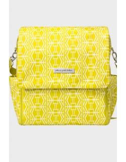Сумка для мамы Petunia Boxy Backpack: Electric Citrus