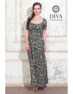 Платье для кормящих и беременных Diva Nursingwear Stella Maxi, Giardino