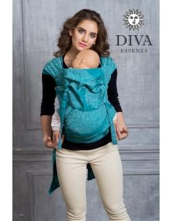 Май-слинг Diva Essenza Smeraldo, размер Toddler