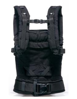 Эрго-рюкзак Manduca, цвет черный (black)