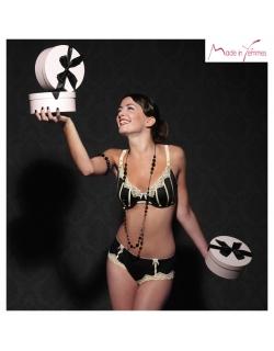 Шортики Made in Femmes Gourmandise Noir