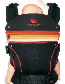 Вставка в удлинение спинки эрго-рюкзака Manduca, оранжевый