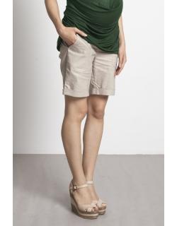 Шорты для беременных и кормящих Mothers en Vogue Boardwalk, светлый хаки