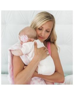 Муслиновые пеленки для новорожденных Swaddle Designs большие, Hedgehog XOXO