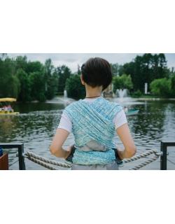 Слинг-шарф Velina, Aquamarine Paisley