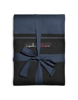 """Слинг-шарф JPMBB трикотажный, цвет """"синий-черный"""""""