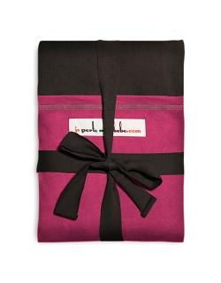 """Слинг-шарф JPMBB трикотажный, цвет """"темно-коричневый - фуксия"""""""