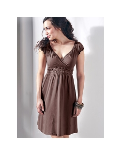 """Платье Mothers en Vogue """"Anna-Jane"""", цвет коричневый"""