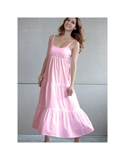 """Платье Mothers en Vogue """"Getaway Maxi"""", цвет розовый"""